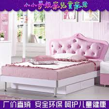 Child Bed Frame Soft Baby Princess Bed Children Against Child Bed Desk