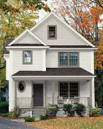 image result for soft white house warm beige for trim and door