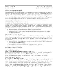 Resume Samples General by Resume Example Best Librarian Resume Sample Librarian Resume Job