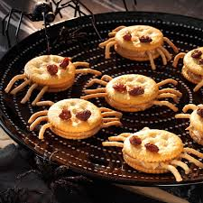 Kraft Halloween Appetizers Spooky Spider Snacks Recipe Taste Of Home