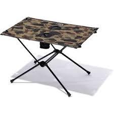 Mini Folding Table A Bathing Ape Goods Bape Outdoor X Helinox Camp Table One Mini 1st