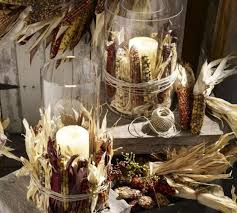 decoration thanksgiving decorations clear glass with candle stick thanksgiving