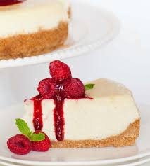 classic cheesecake with raspberry coulee tatyanas everyday food