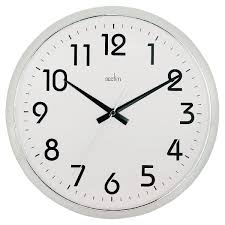 silent wall clocks orion chrome silent wall clock 21287