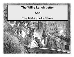 why we ourselves willie lynch syndrome u2013 young african pioneer