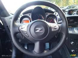 nissan 370z steering wheel 2012 nissan 370z sport touring roadster black steering wheel photo
