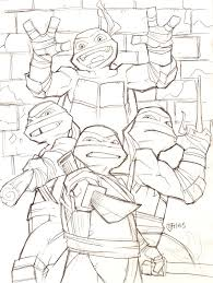 teenage mutant ninja turtles 2012 by guinnessyde on deviantart