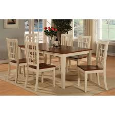 6 Seater Oak Dining Table And Chairs East West Furniture Oak Counter Height Table And 4 Counter Chairs