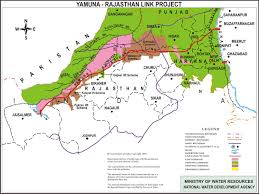 Gurgaon India Map by Yamuna Rajasthan Link