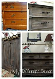 weathered wood finish with heirloom traditions chalk type paint