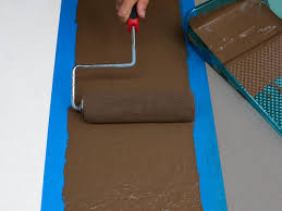Painting A Cement Patio by Spice Up Concrete Floors With Painted Stripes Hgtv
