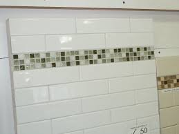 white glass subway tile kitchen backsplash large white glass
