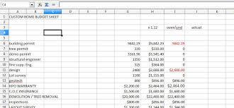Sle Excel Spreadsheet Templates Cost Breakdown Sheet
