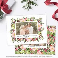 christmas u0026 holiday card templates for photographers u2013 photoshop