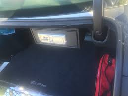 lexus is 250 key battery trunk safe gun safe is250 clublexus lexus forum discussion