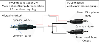 diagram usb to audio jack 3 5 mm jack in line to usb adaptor