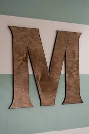 Wooden Letters For Wall Fair Best 25 Wooden Letters