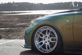 lexus green ag luxury wheels lexus is250 forged wheels