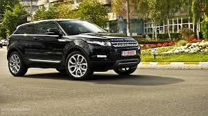 range rover small range rover evoque coupe review autoevolution