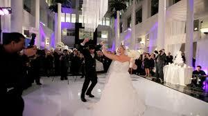 wedding reception grand entrances 2017 wedding trends videography cinematography