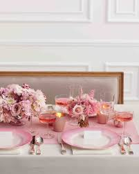 Blush Pink Table Runner Pink Bridal Shower Ideas And Decorations We Love Martha Stewart
