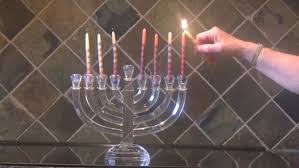 where can i buy hanukkah candles lighting hanukkah candles 6th stock footage 3156553