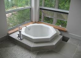 small japanese inspired soaking tub for modern bathrooms perfect