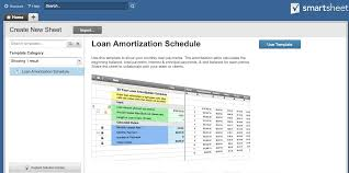 Auto Loan Spreadsheet by How To Create An Amortization Schedule Smartsheet