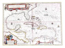 Map Of West Indies Atlas Maior Vol 11 Z 1 32 Blaeu 1662 The Americas U2013 L Brown Collection