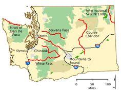 americas byways chinook scenic byway map america s byways washington state