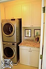 laundry in kitchen ideas small laundry room cabinets home design