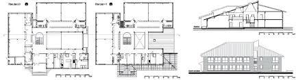 floorplan com figure 7 floor plan section and elevation of the petar pan