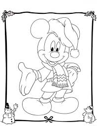free disney christmas coloring pages kids christmas