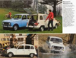 renault 1980 renault 4 brochure