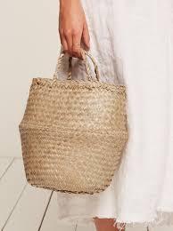 doen phoebe moroccan basket bag reformation