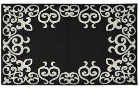 Black And Silver Rug Designer College Rug Bordeaux Black U0026 Silver