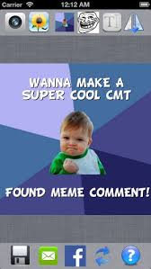 Make A Free Meme - meme comment make a cool meme pic impressive your facebook cmt