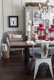 rustic industrial christmas dining room hello yellow blog