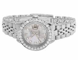 rolex bracelet diamonds images Ladies stainless steel 26mm rolex datejust jubilee bracelet jpg