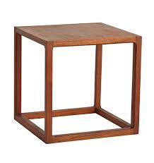Cube Side Table Modern Cube Side Table Rejuvenation