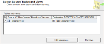 Sql Copy Table From One Database To Another Migrate Data From Ms Access To Sql Server Database