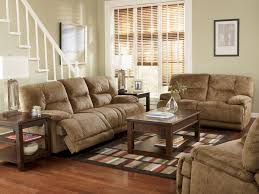 Space Saving Loveseat Living Room Brown Microfiber Reclining Sofa And Loveseat Also