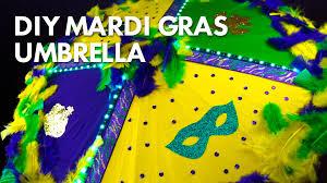 mardi gras umbrella diy mardi gras umbrella with led lights