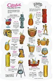 vintage cocktail party illustration 54 best tiki drink menus images on pinterest cocktail menu tiki