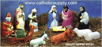 lighted outdoor nativity 28 scale color 12 lighted outdoor nativity set