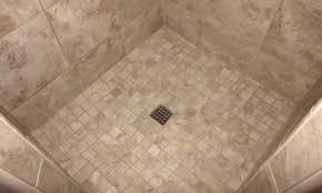Remove Floor Tiles From Concrete Shower Waterproof A Concrete Shower Floor Amazing Cement Shower