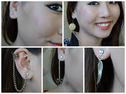 how to make your own clip on earrings diy magnetic earrings cartilage feather earrings studs