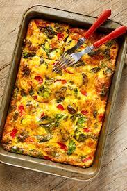 kitchn roast chicken recipe vegetable supreme egg bake u2014 quick and easy breakfast
