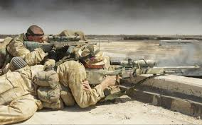 scots guards sniper u0026 other british armed forces sniper on a