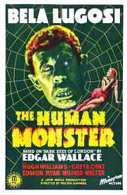 the human monster aka the dark eyes of london 1940 uk the